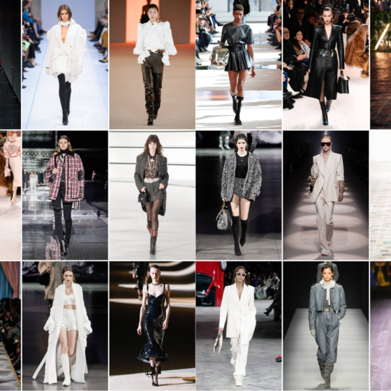 Fashion week autumn winter 2020 key trends