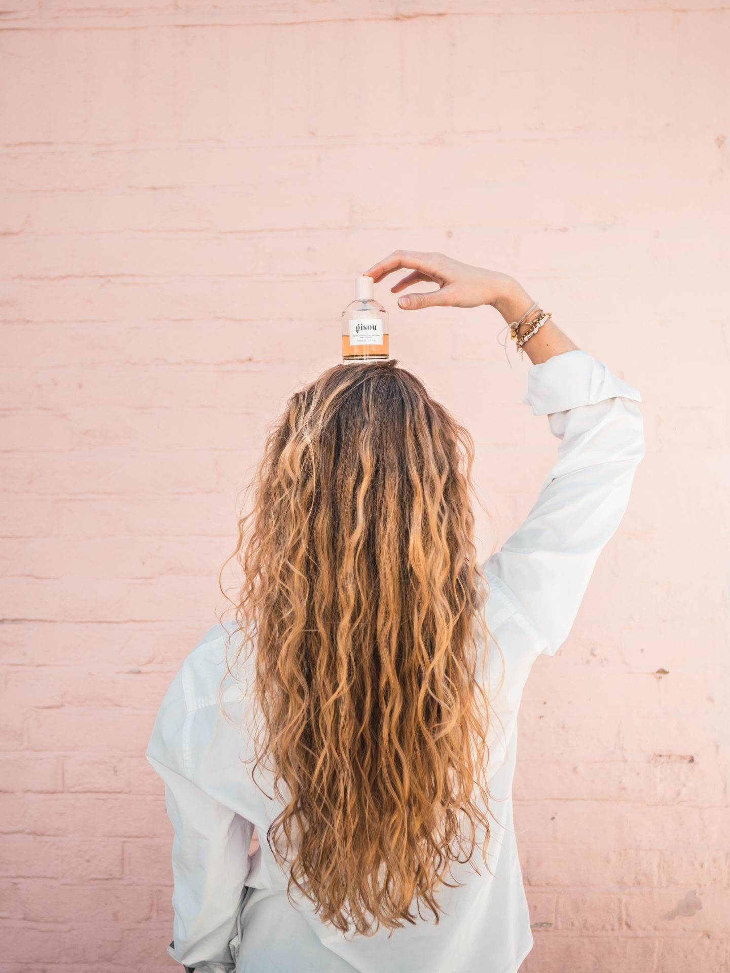naturally curly hair care routine