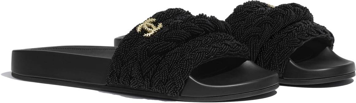 Chanel mule sandals 2020